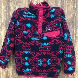 Girl Synchilla Fleece Pullover sz Sm